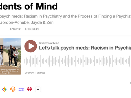 Let's Talk about Racism in Psychiatry
