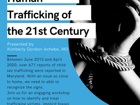 Dr. Kim Gordon advocates to end Modern Day Slavery in BIPOC communities.