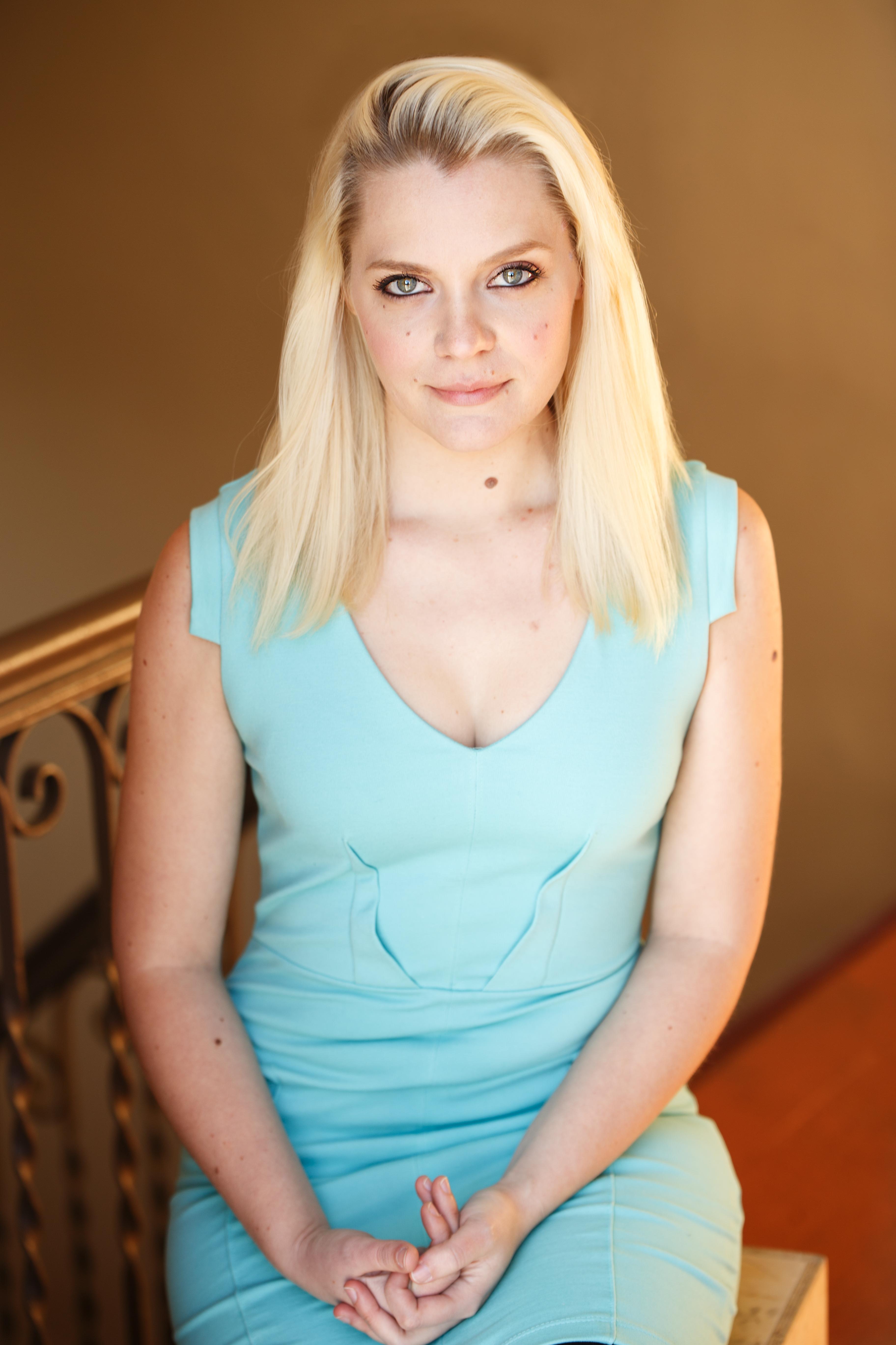 Skye Violet Wilson - BLUE Headshots