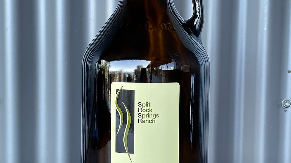 SRSR Extra Virgin Olive Oil Half Gallon Bottle