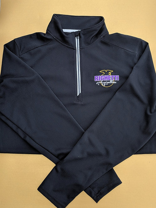 1/4 Zip Waffle Pullover