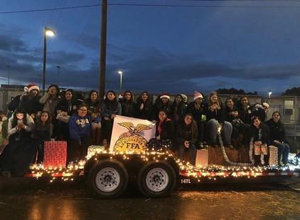 Righetti FFA Takes Over the Parade of Lights