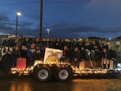 Righetti FFA Takes Over the Parade of Lights
