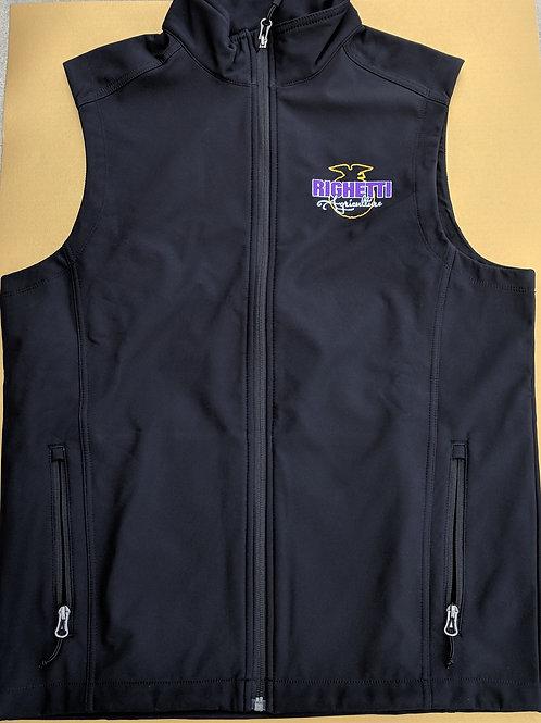 Black Softshell Vest