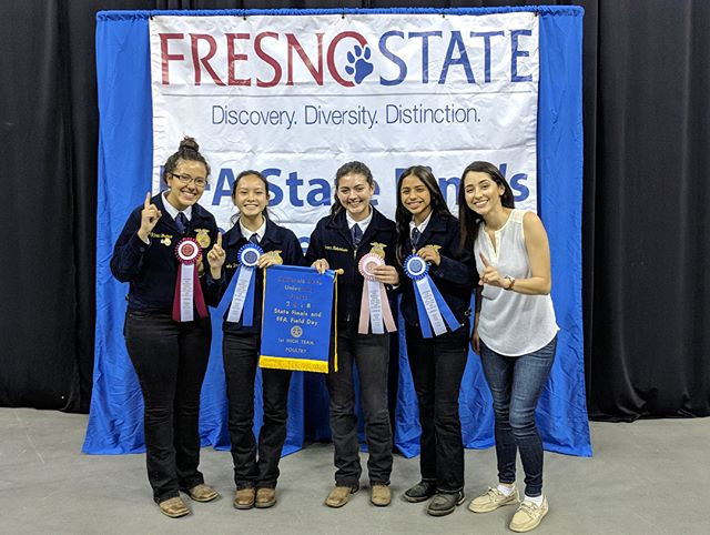 Poultry Team receives first place at the competition