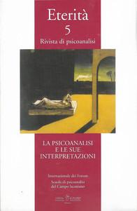 La psicoanalisi e la sua interpretazione