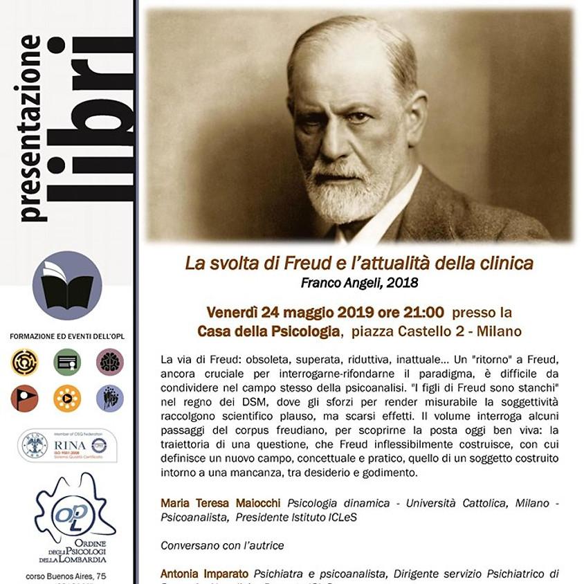 """Presentazione del testo """"La svolta di Freud e l'attualità della clinica"""""""