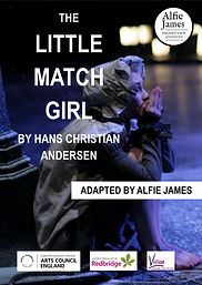 The Little Match Girl Portrait poster-pa