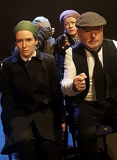 Actors performing our Women in War play.