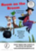 Room on the broom Arts Theatre poster.pu