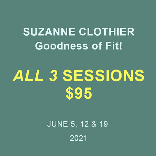 Suzanne Clothier: All Session