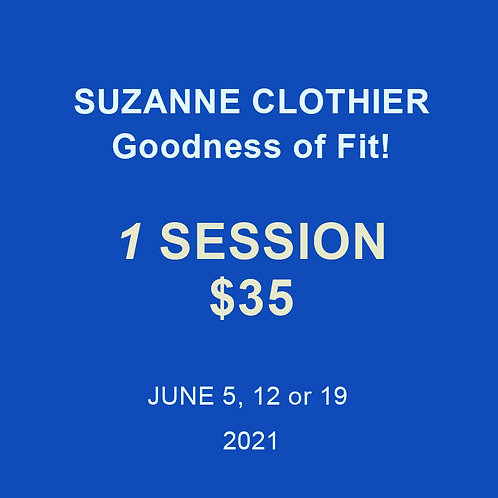 Suzanne Clothier: 1 Session