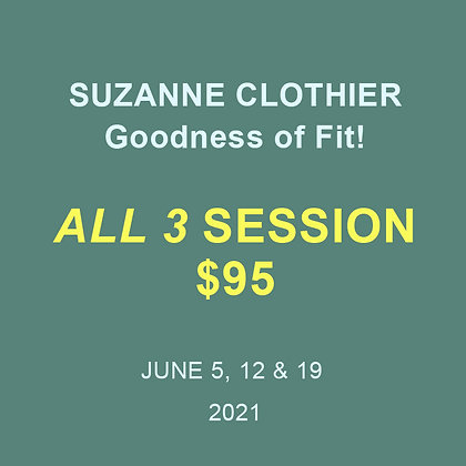 Suzanne Clothier: Goodness of Fit!