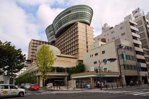 大阪城市廣場酒店外觀