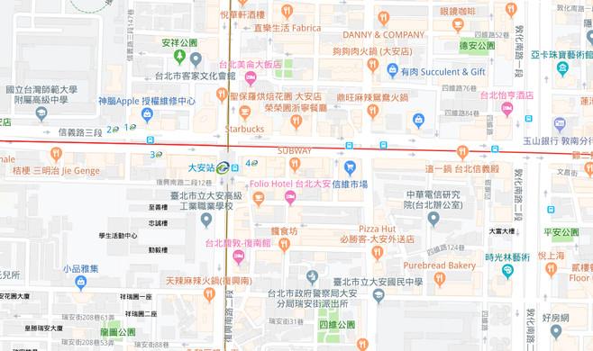 富藝旅地圖