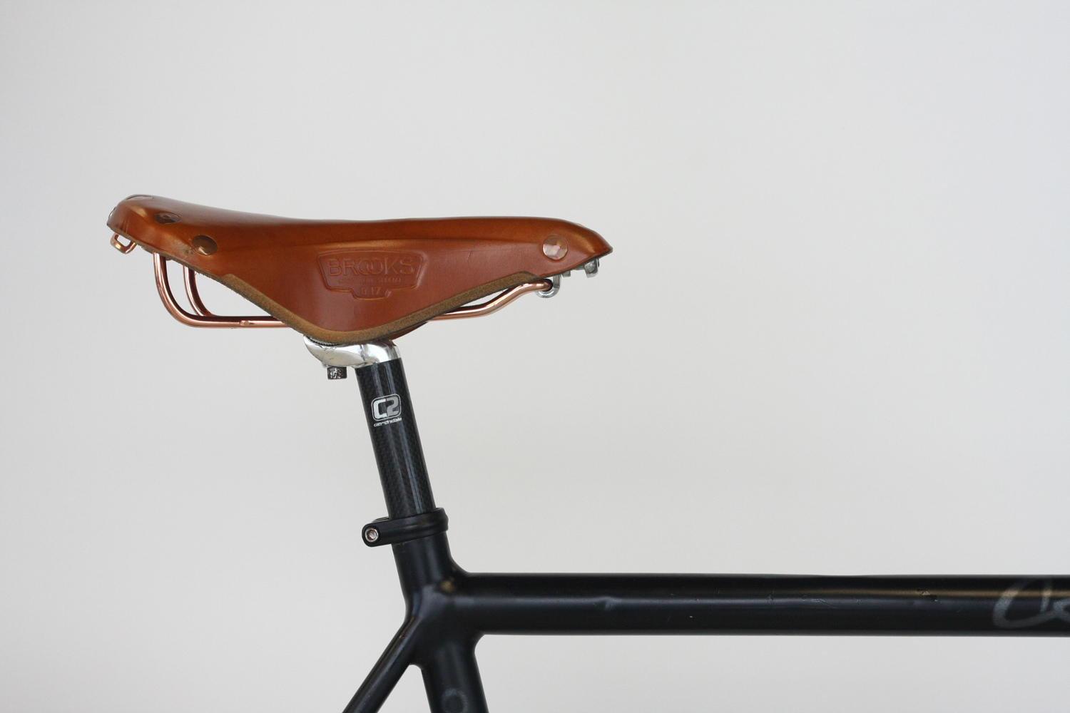 Brown Bike Seat