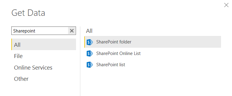 SharePoint Options