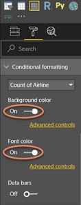 Matrix Conditional Formatting