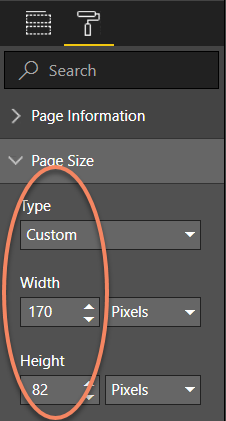 Page Dimensions