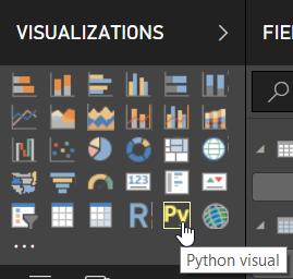 Create a Python Visual