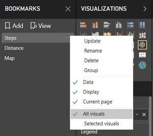 Bookmark Options