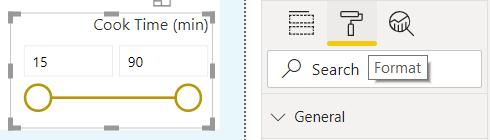 Select Format Tab