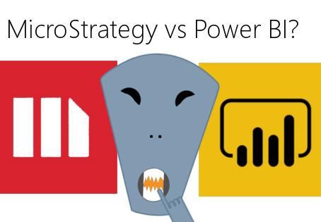 MicroStrategy vs Power BI (Report builder tools for desktop)