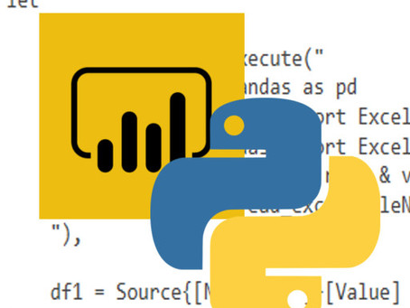 Power BI: Creating a Function with Python