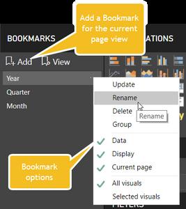Add Bookmarks