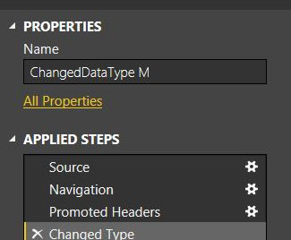 Data Management: Power BI Data Types with M or Report Design UI?