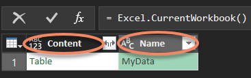 Get Worksheet Data In the Current Workbook With Power Query