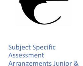 20/21 Assessment Arrangements Update