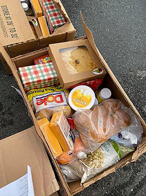 Typical Food Ministry Box