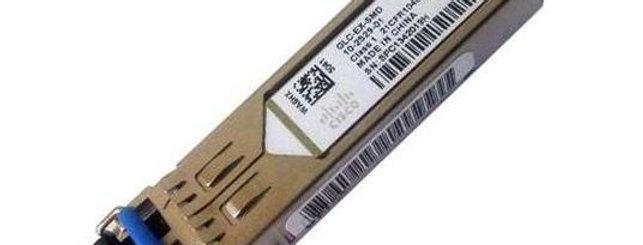 Cisco GLC-EX-SMD= 1000BASE-EX SFP Transceiver Module, SMF 1310nm, DOM Max 40Km