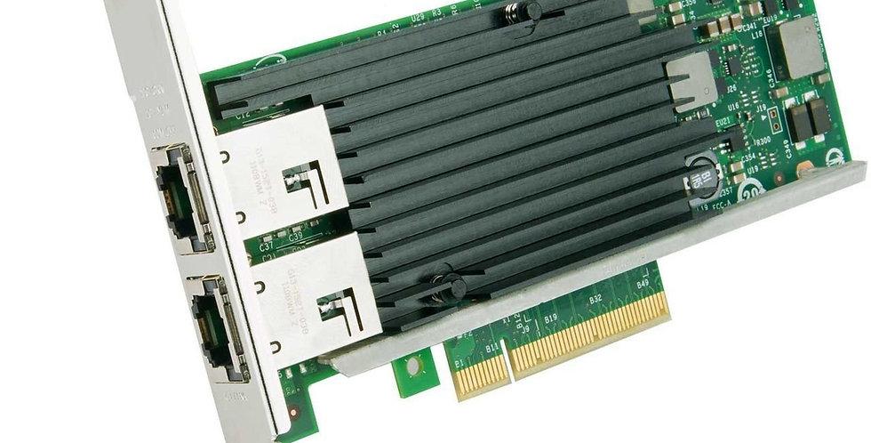 Intel X540-T2  Dual / 2 Port 10GbE PCI-E X8 Ethernet Kart