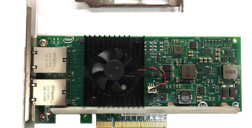 Intel X540-T2 DP  Dual / 2 Port 10GbE PCI-E X8 Ethernet Kart