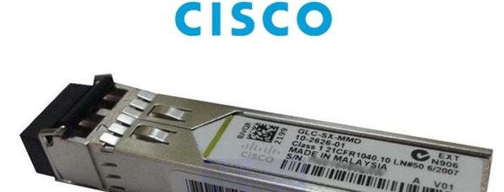 Cisco GLC-SX-MMD= 1000BASE SX SFP Transceiver Module, MMF 850nm