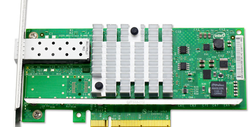 IntelX520-DA1  Single / 1 Port 10GbEPCI-X8 SFP+ Ethernet Kart - E10G41BTDA