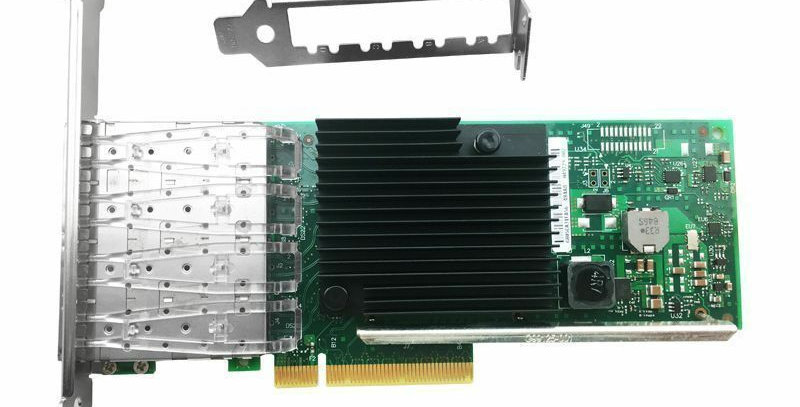 Dell 542-BBCM Intel X710-DA4  Quad / 4 Port 10GbE SFP+ Network Adapter