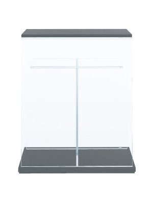ADA Cube Cabinet Clear 60 With Wood Plate