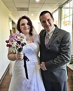 Ashley and Devin wed yesterday in a very