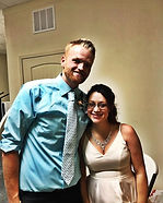 Tanesha and Shane wed yesterday in Webb