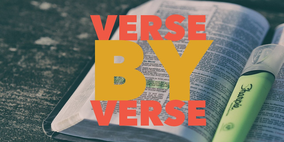Verse by verse Bible study