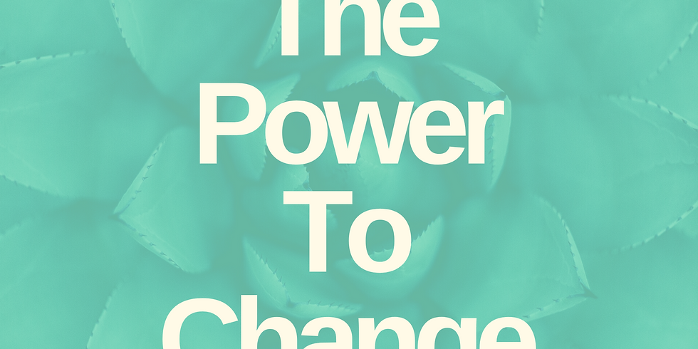 The Power to Change: How the Gospel helps us to live differently