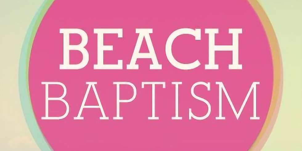 Beach Baptism & Church Picnic