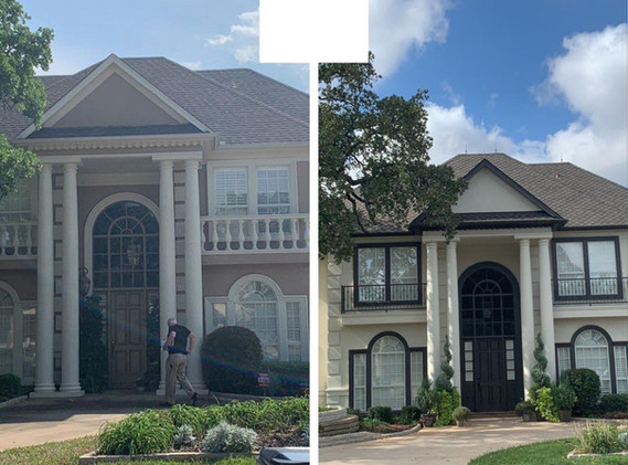 Before and After Paint