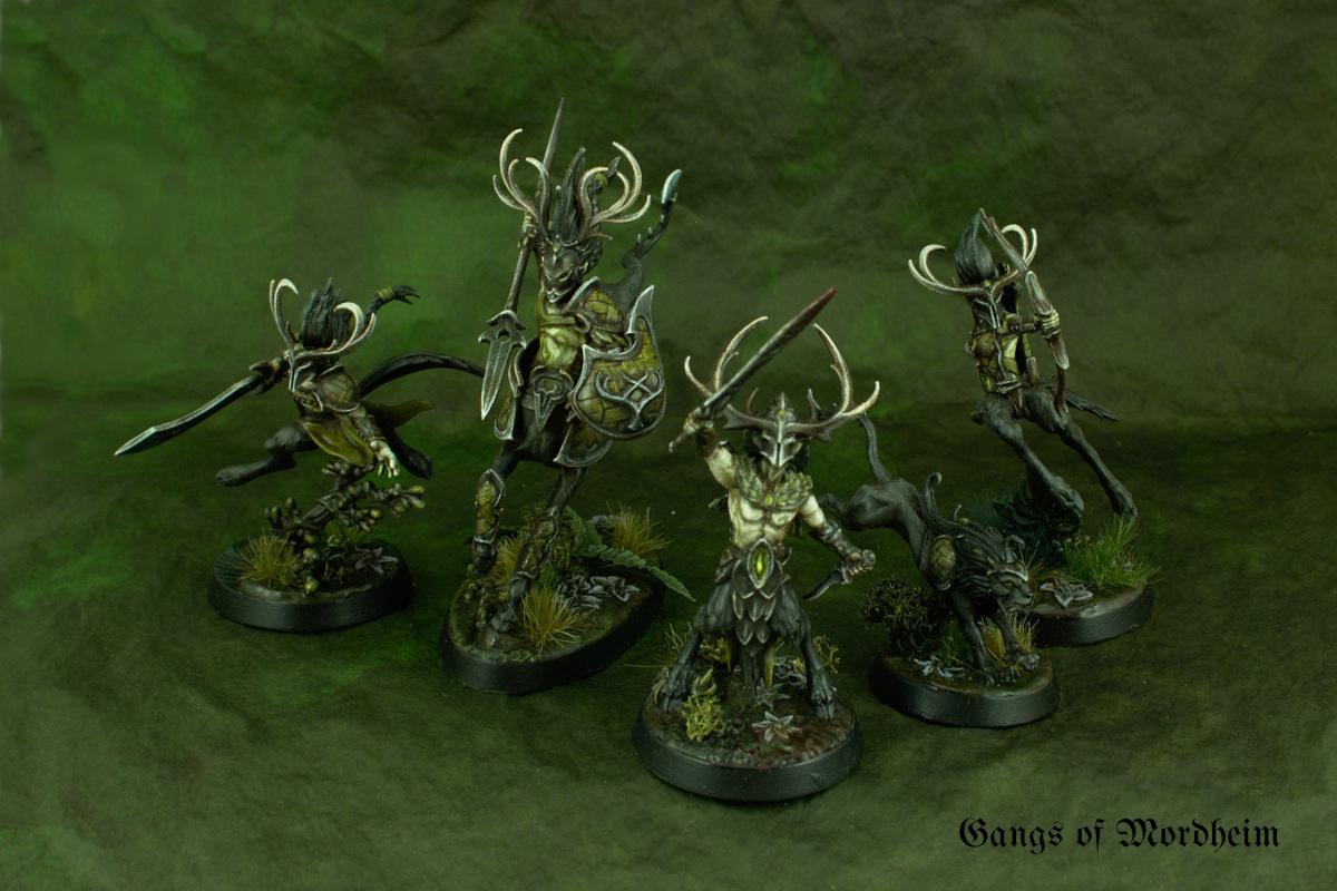 Skaeth's Wild Hunt w/ grimdark masks