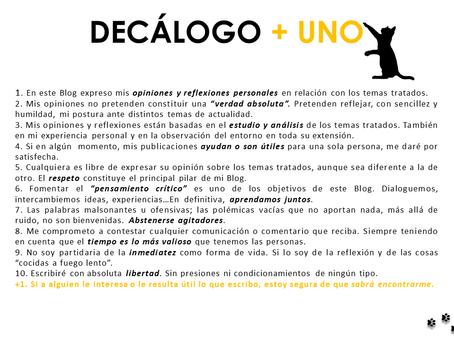 Decálogo + Uno