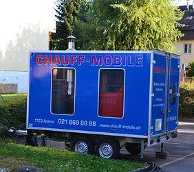 Chauff-mobile chaufferie mobile