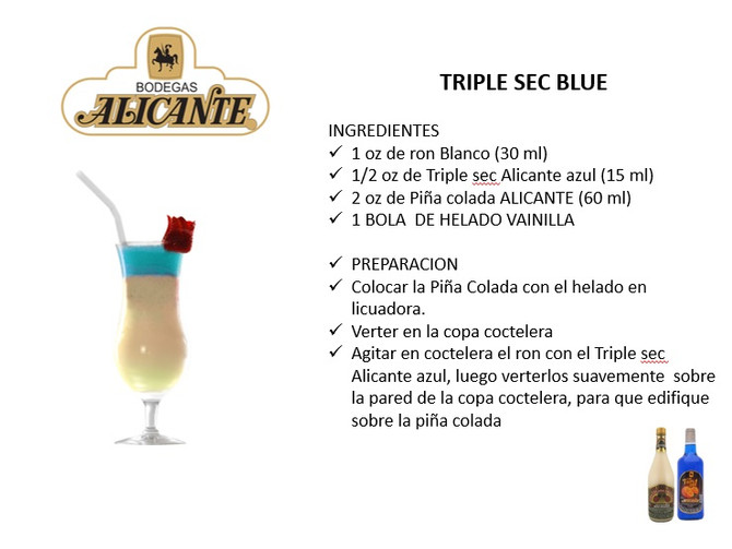 Triple Sec Blue